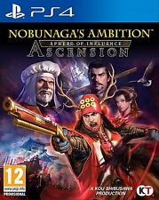 nobunaga's Ambition: Sphere Of influir - Ascension (PS4) NUEVO PRECINTADO