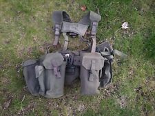 More details for genuine british army 58 pattern webbing inc yoke and pouches excilent condition