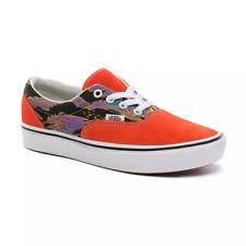 VANS Ladies Classic Suede Trainers Shoes Orange Comfycush RRP £65.00 New Size 6