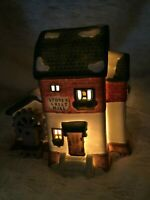Dept 56 Heritage Christmas Village Series Stoder Grist Mill 1993