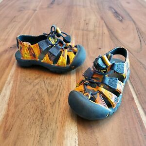 KEEN Sunport Flame Print EVA Rubber Baby Sandals Infant 4