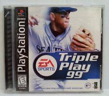 Playstation Triple Play 99 Video Game EA Sports Baseball Compact Disc