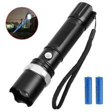 Led Taschenlampe Polizei Swat Cree Zoom 1000 Meter Leuchtweite inkl.2x PowerAkku