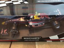 F1 MINICHAMPS 1/18 RED BULL RACING RB5 S. VETTEL PNEU PLUIE WINNER CHINE GP 2009