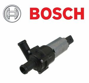 BOSCH Secondary Water Pump Electric For Porsche VW Audi VR6 R32 TT 2.7T Allroad