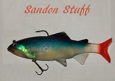 New 2016 Range Super Large Blue Red and Silverish Soft Bait Fishing Lure 200mm