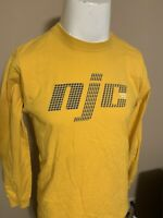 Vintage Nautica Jeans Yellow Spell Out Mens Long Sleeve T Shirt Extra Large XL