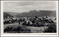 Finsterbergen Thüringen DDR Postkarte ~1950/60 Gesamtansicht ungelaufen