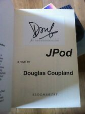 Jpod, First Edition, Signed By Douglas Coupland.