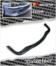 H-STYLE CARBON FIBRE FRONT LIP SPOILER for 2000-2003 BMW E39 5-SERIES M5 BUMPER
