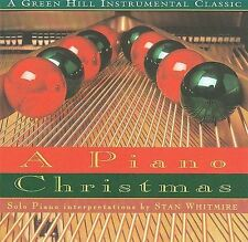 A PIANO CHRISTMAS BY STAN WHITMIRE CD, 1994 NEW WITH WRAP