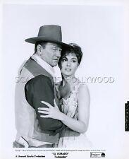 JOHN WAYNE  CHARLENE HOLT EL DORADO HOWARD HAWKS 1966 VINTAGE PHOTO ORIGINAL #3