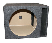 "Q-Power QSBASS12 Single 12"" Vented Slot Ported Empty Subwoofer Sub Enclosure Box"