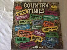 """Rare Copy Country Times, Original Artists, 1975 Vinyl Album Record 33 RPM 12"""" LP"""