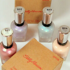 Limited Edition Pastels on Pointe le Sally Hansen 821 822 823 824 Top 1a Set