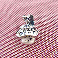 Authentic Pandora Silver 925 ALE  Forest Fairy Charm 791734