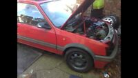 Original Peugeot 205 309 Gti Cti Gentry Orange Side Repeater Breaking Parts Mi16