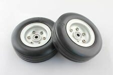 "3.25"" Aluminum Alloy Core Natural Rubber Wheels Tires for RC Model Airplane"