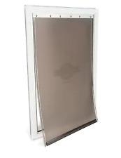 PetSafe Aluminum Pet Door X-Large White Aluminum Pet Door Hpa11-11601 New