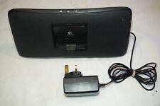 Logitech S315i Portable Speaker Dock for iPhone iPod Black