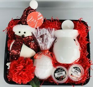 LADIES CHRISTMAS ROBIN BATH BEAUTY PAMPER HAMPER GIFT BOX SET HER FRIEND MUM NAN