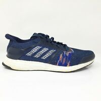 Adidas Mens Ultraboost ST CQ2146 Navy Blue Running Shoes Lace Up Low Top Size 10