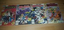 the new warriors #1 2 4 5 1990