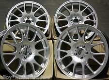"18"" SILVER CH ALLOY WHEELS FITS RENAULT VOLVO PEUGEOT MERCEDES BENZ 5X108 ONLY"