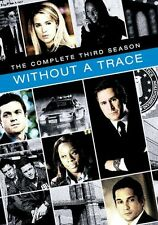 WITHOUT A TRACE: THE COMPLETE THIRD SEASON 3 -  Region Free DVD - Sealed