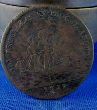 ancienne piece  jeton royal jean baptiste massillon 1719 cu clermont eveque 13