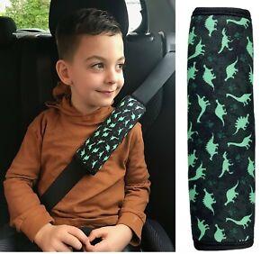 HECKBO Dinosaurier Auto Gurtschutz Gurtpolster Gurtschoner für Jungen Kinder