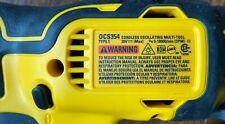 Dewalt DCS354B Oscillating Multi-Tool