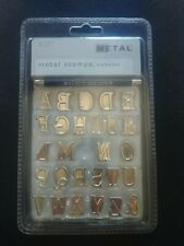 Walnut Hollow Hot Stamps Alphabet Set Uppercase 26 Pieces & Punch Handle 41637