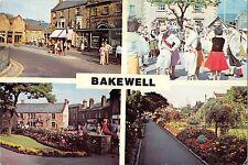 BR92580 bridge street morris dancers the gardens bakewell   uk