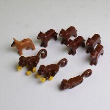 LEGO Minifigures LOT OF 6 DOGS, 2 MONKEYS & 1 MONKEY Body *Non-Mint*