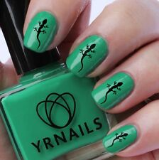 Nail WRAPS Nail Art Water Transfers Decals - Lizard - S596