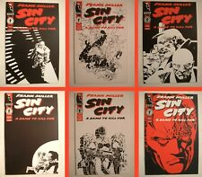 New listing Sin City: A Dame to Kill For Lot - Dark Horse 1993 - #1 thru 6! Frank Miller!