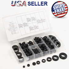 180 pc Rubber Grommet Assortment Kit Set Firewall Hole Electrical Wiring Gasket