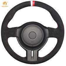 Suede Steering Wheel Cover for Toyota 86 2012-2015 Subaru BRZ 2012-2015 #SU01
