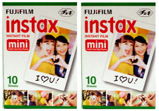 TWO FUJI Instax Mini Double INSTANT FILM - 40 Images - Free UK Delivery