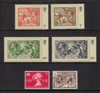 GB 2010 sg3066-71 London 2010 Festival Of Stamps - King George V - set MNH