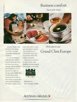 Original Advertising' American Aua Austrian Airlines Company Aerial Business