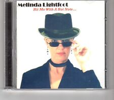 (HK533) Melinda Lightfoot, Hit Me With A Hot Note - 2006 CD