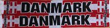 Danmark Fanschal Schal Fussball Dänemark scarf #010
