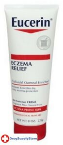 BL Eucerin Creme Eczema Relief 8 oz Tube - Two PACK