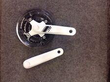 Suntour 150mm pedaliera in 22/32/42 Anelli Bianco