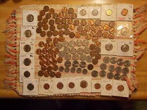 USA big mix coin lot, wheats,Jeffs,+ 2 silver
