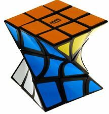 Eitan's Twist Cube Puzzle, 3x3x3 Rotated Magic Speed Twist Brainteaser Toy