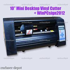 """10"""" Mini Desktop Vinyl Cutter Contour Cutting Plotter Printer & WinPcsign 2012"""