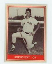 John Elway minor league METAL baseball card  - New York Yankees - Denver Broncos